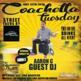 Coachella Tuesdays at Zelda's Nightclub with Aaron C