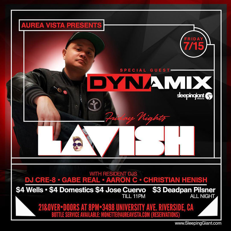 Lavish inside Aurea Vista Nightclub with Aaron C
