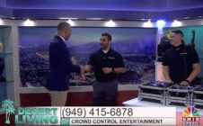 Aaron C with Crowd Control Entertainment on KMIR with Bryan Gallo