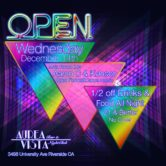 Open Wednesdays inside Aurea Vista Nightclub with Aaron C