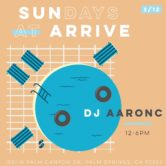 SUNdays at ARRIVE with Aaron C