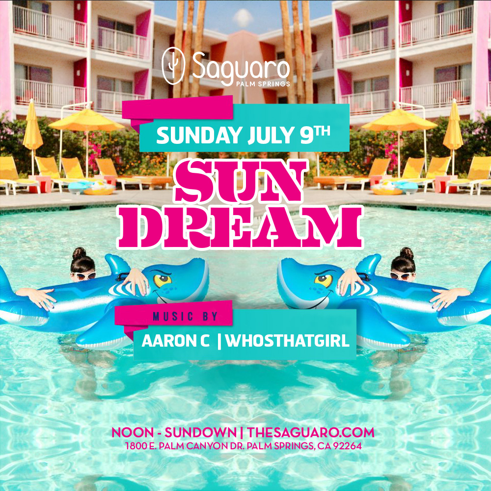 Sundream at Saguaro Palm Springs with Aaron C